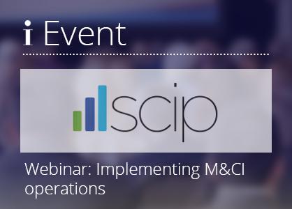 Webinar 200225 – SCIP webinar on implementing M&CI operations