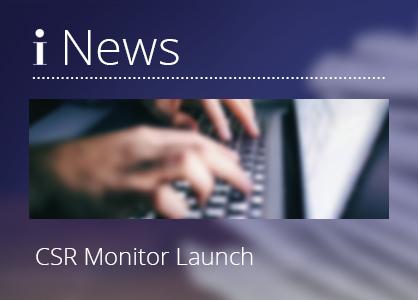 Press Release 210329 – Inzyon launches CSR monitor for company sustainability intelligence and compliance measures