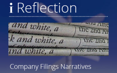 Company filings narratives – a wealth of ESG analysis data