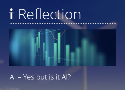 AI! Yes, but…. is it AI we are talking about?